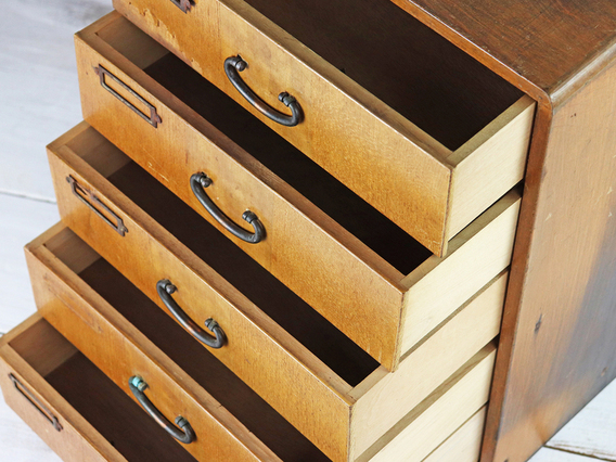 View our  Vintage Japanese Filing Cabinet from the   collection