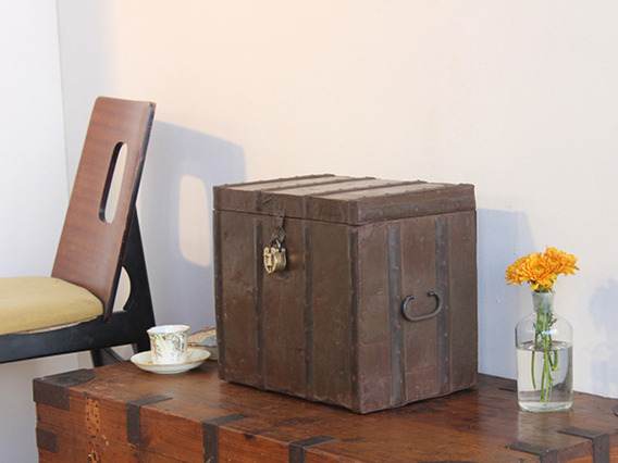 View our  Metal-Clad Vintage Box from the   collection
