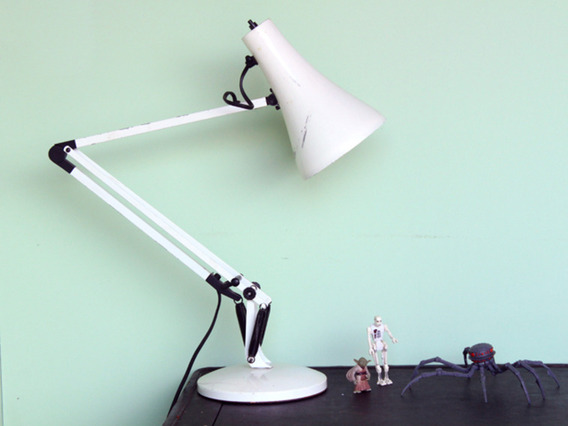 View our  Anglepoise Lamp from the  Vintage Wooden Pots collection