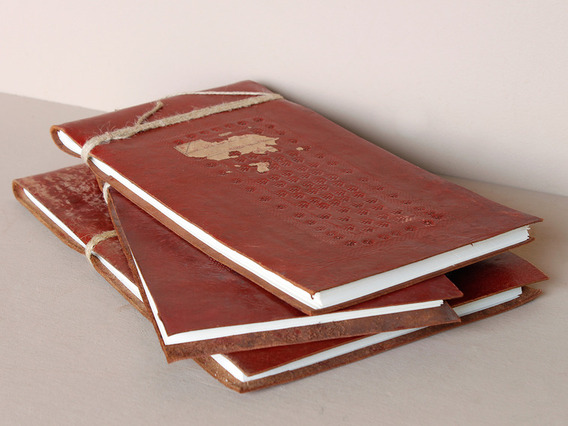 View our  Antique Leather Sketchbook from the   collection