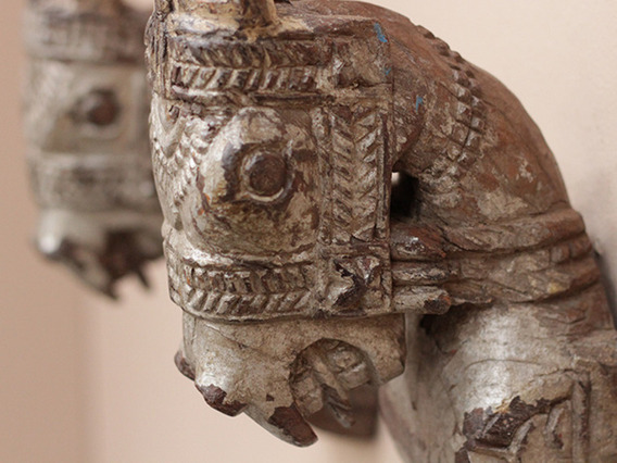 View our Women Antique Marwari Horse Heads - Twin Pair from the Women Sold collection