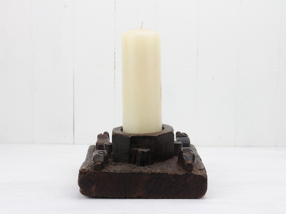 View our  Antique Re-Purposed Candle Holder from the   collection