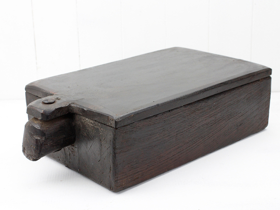 View our  Antique Spice Box from the  Vintage Wooden Pots collection