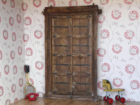 View our  Antique Wooden Door 1 from the  Architectural collection