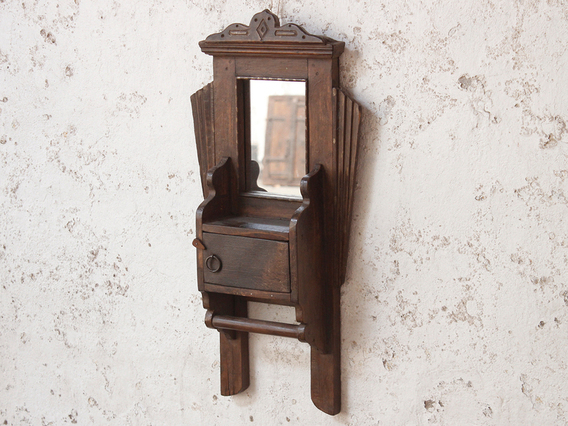 View our  Art Deco Shaving Mirror from the  Wooden Mirrors collection