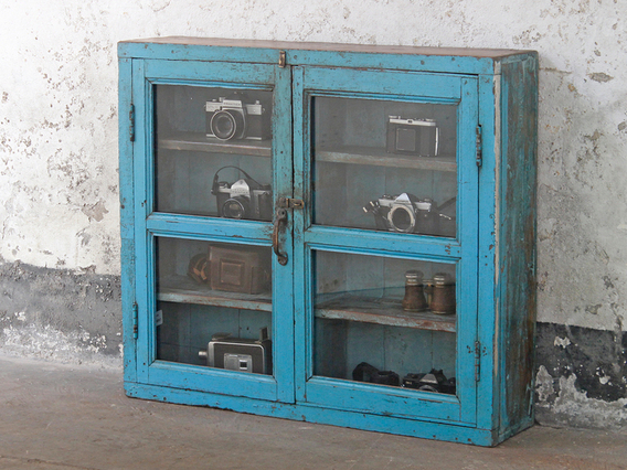 View our  Blue Display Cabinet from the   collection