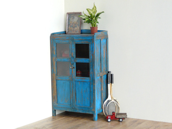 View our  Blue Kitchen Dresser from the  Vintage Cabinets & Cupboards collection