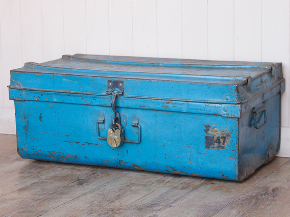 View our  Blue Metal Travel Case from the   collection
