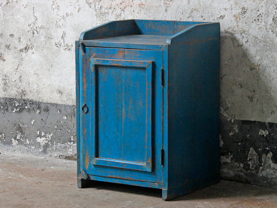 View our  Blue Vintage Bedside Cabinet from the  Vintage Cabinets & Cupboards collection