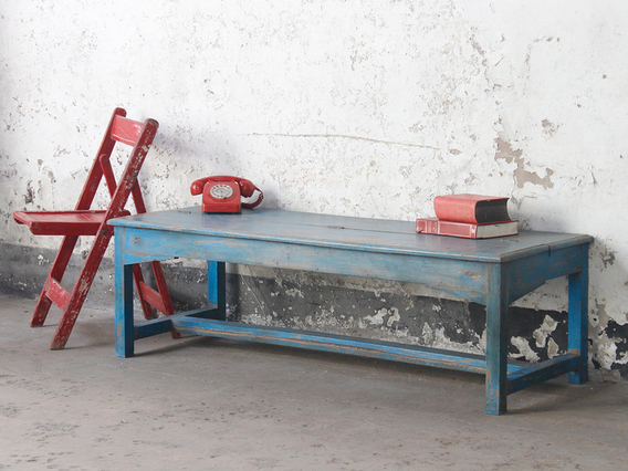 View our  Vintage Bench With Storage from the   collection