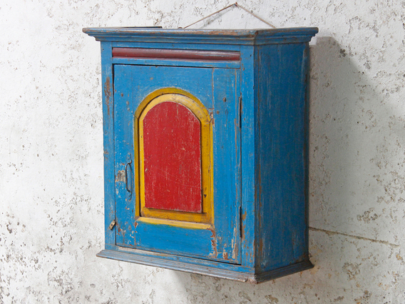 View our  Blue Vintage Wooden Cabinet from the  SALE collection