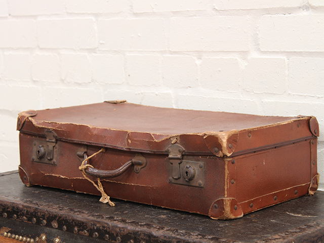 View our  Distressed Vintage Suitcase from the   collection