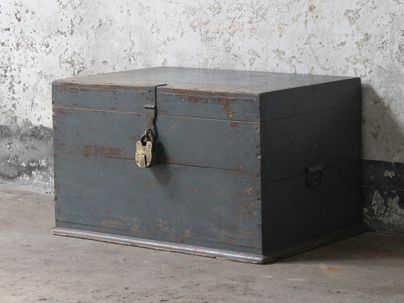 View our  Grey Rustic Merchant's Chest from the   collection