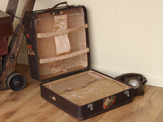 View our  Ladys Travel Wardrobe Suitcase from the  Vintage Suitcases collection