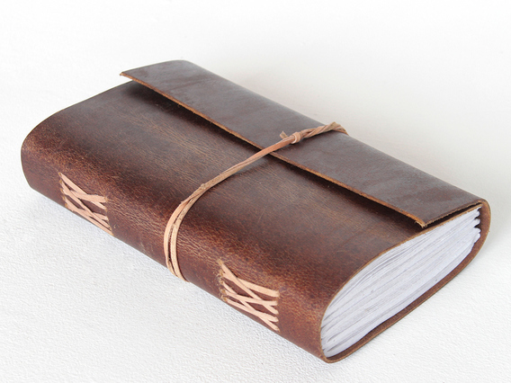 View our  Large Leather Notebook from the   collection