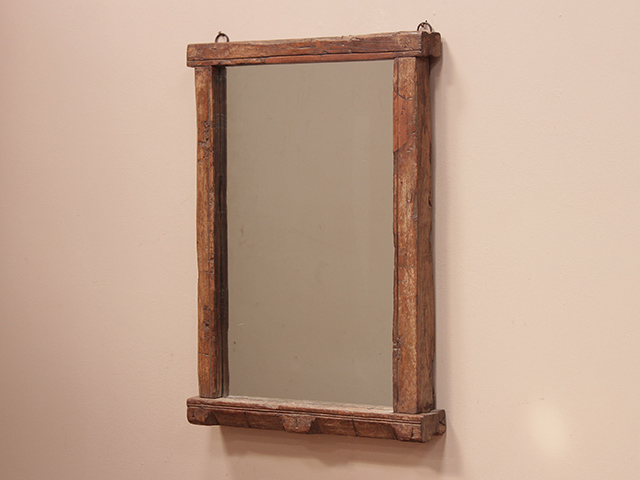 View our  Large Vintage Teak Mirror from the   collection