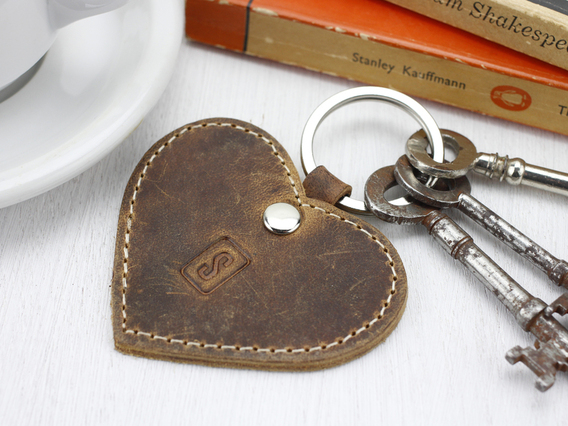 View our  Leather Heart Keyring from the  Valentine's Gifts collection