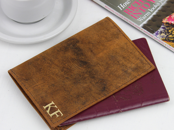 View our  Leather Passport Holder from the  Gifts For Women collection