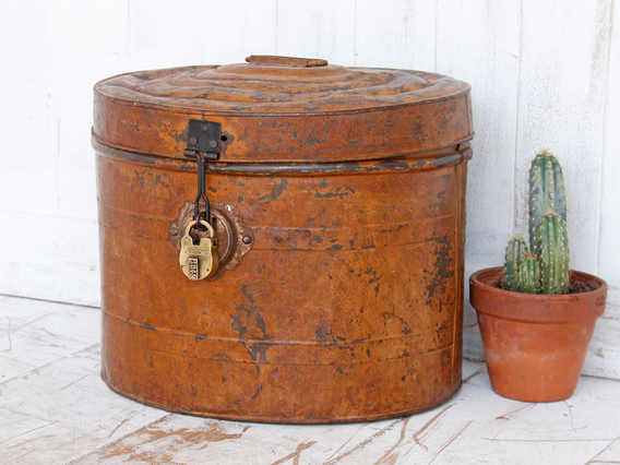 View our  Vintage Hat Tin from the   collection