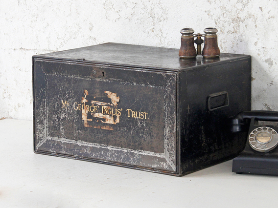 View our  Metal Deeds Box from the   collection
