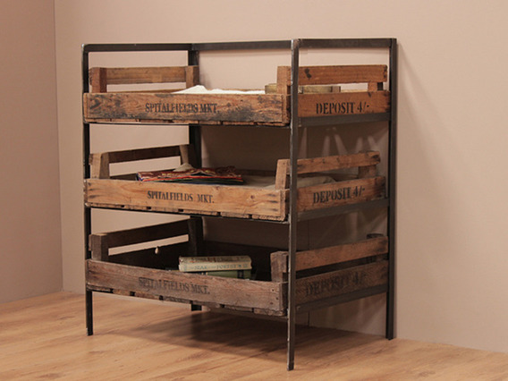 View our  Metal Vintage Crate Rack from the   collection