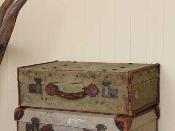 View our  Military Vintage Canvas Suitcase from the   collection