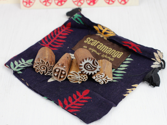 View our  Mini Wooden Printing Block Gift Set from the  Gift Sets collection