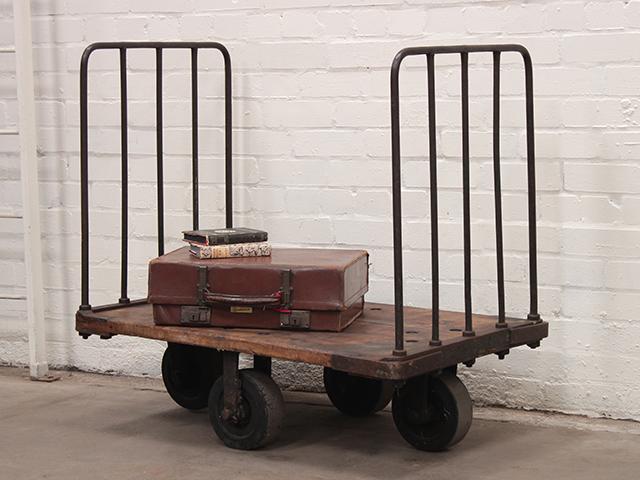 View our  Vintage Industrial Trolley from the   collection