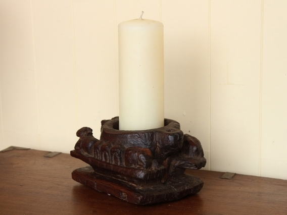 View our  Antique Ornate Candle Holder from the   collection