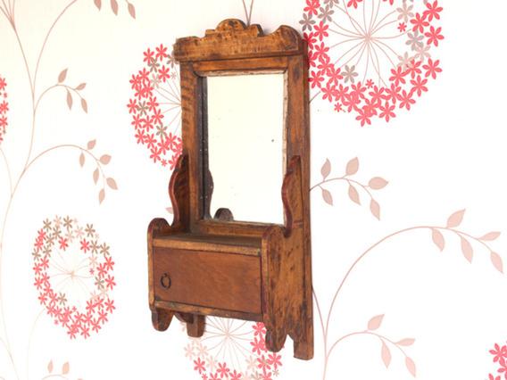 Old Bathroom Mirror