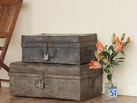 View our  Old Metal Trunk from the   collection