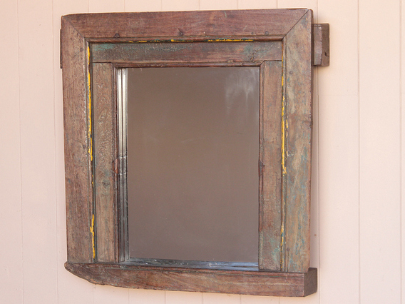 View our  Old Rustic Mirror from the   collection