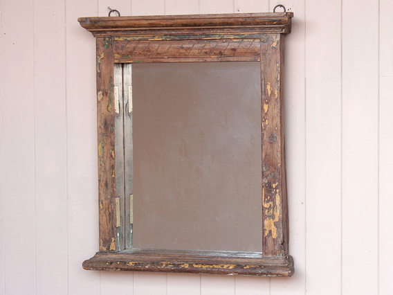 View our  Old Teak Wall Mirror from the   collection