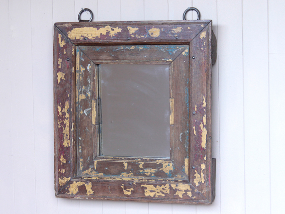 View our  Old Window-Frame Mirror from the   collection