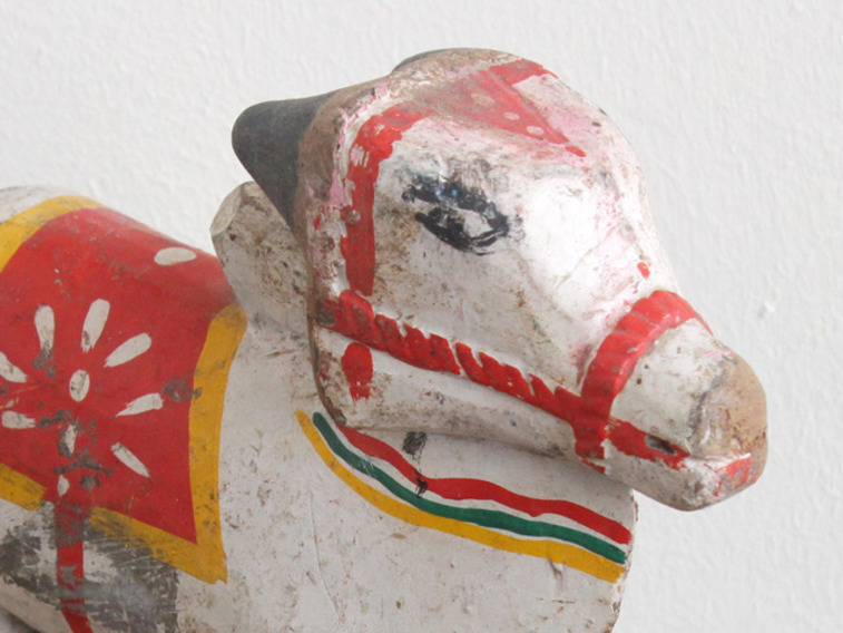 View our  Old Wooden Cow from the  Vintage Wooden Pots collection