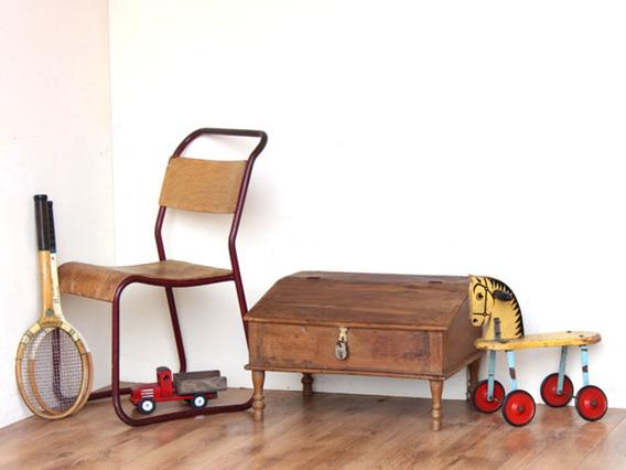 Old Wooden Desk 40077