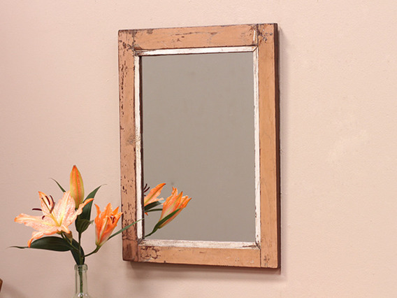 View our  Old Wooden Framed Mirror from the  Wooden Mirrors collection