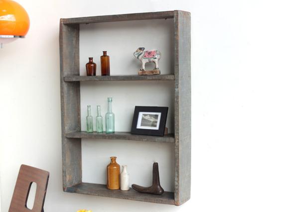 Old Wooden Shelf