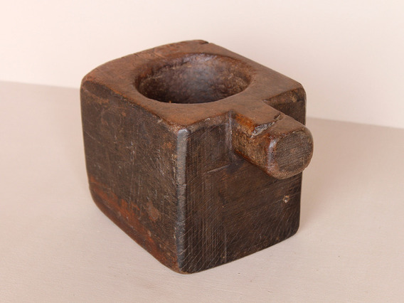 View our  Old Wooden Tikka Pot from the  Vintage Wooden Pots collection