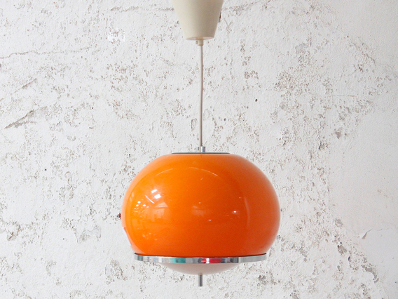 View our  Vintage Orange Globe Pendant Shade from the   collection