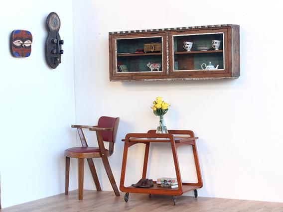 Original Art Deco Wall Cabinet