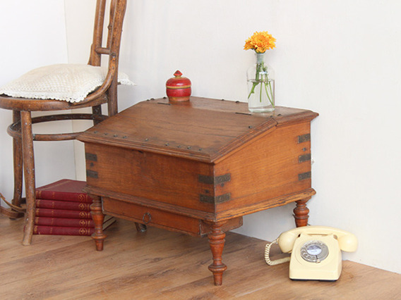 View our  Ornate Antique Merchants Desk  from the   collection