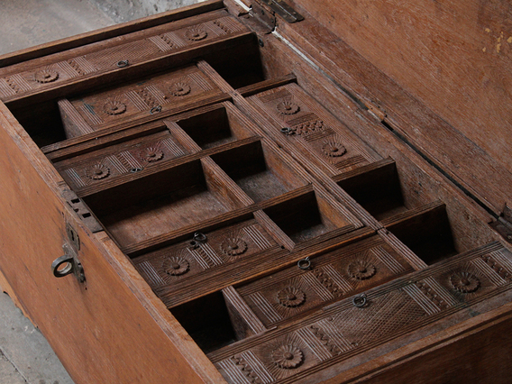 View our  Antique Storage Chest from the   collection
