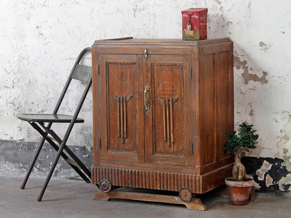 View our  Art Deco - Vintage Colonial Cabinet from the  Vintage Cabinets & Cupboards collection
