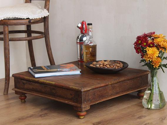 Ornate Vintage Low-table