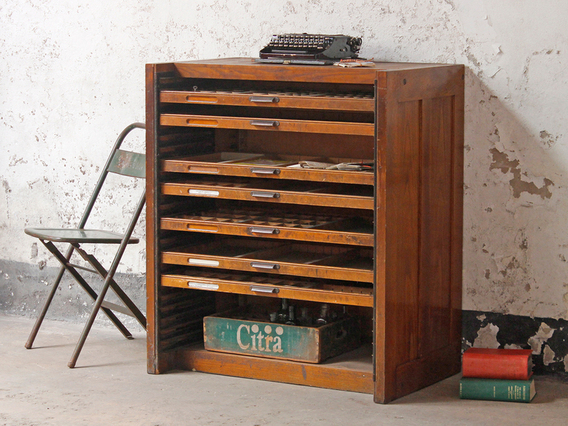View our  Vintage Printer's Cabinet from the  Vintage Cabinets & Cupboards collection