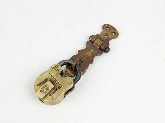 Padlock Hasp and Staple - Extra Small
