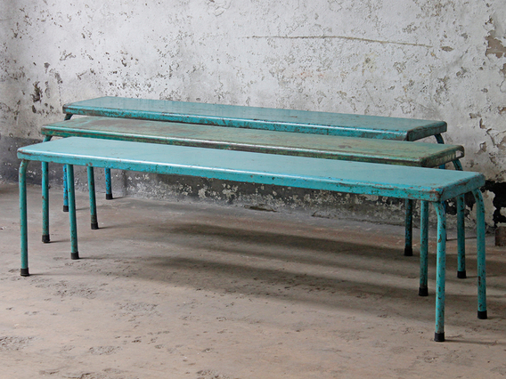 View our  Metal Bench from the   collection