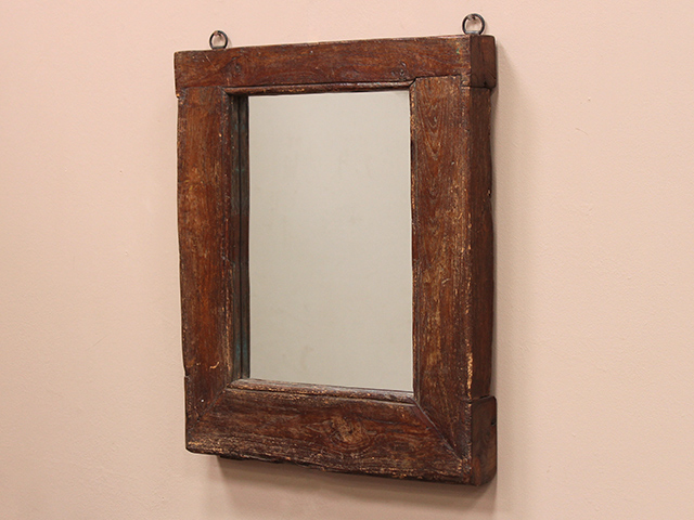 Reclaimed Antique Window Frame Mirror
