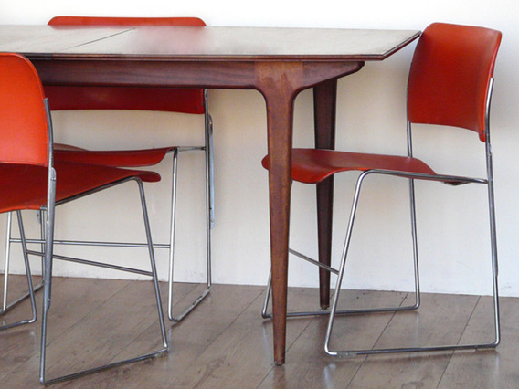 View our  Red Retro Chairs from the  Old Chairs, Stools & Benches collection